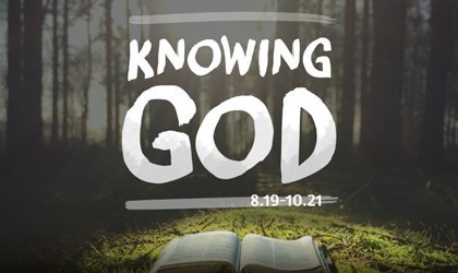 Knowing God - Part 9