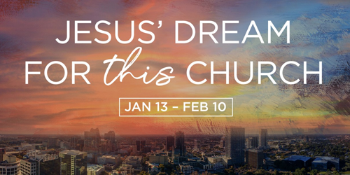 Jesus' Dream for THIS Church - Part 3, Giving of our Time, Talents and Treasure